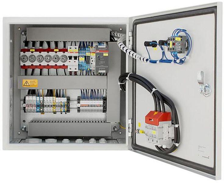 steuerungen und schaltk sten mit frequenzumrichter parker ac10. Black Bedroom Furniture Sets. Home Design Ideas